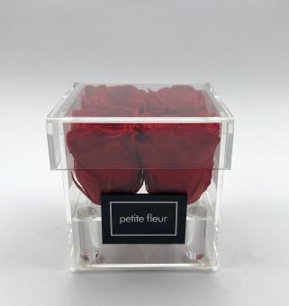 "Infinity Rosenbox S ""petite fleur"" aus Acryl"