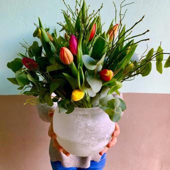 Kleine Tulpen Liebe